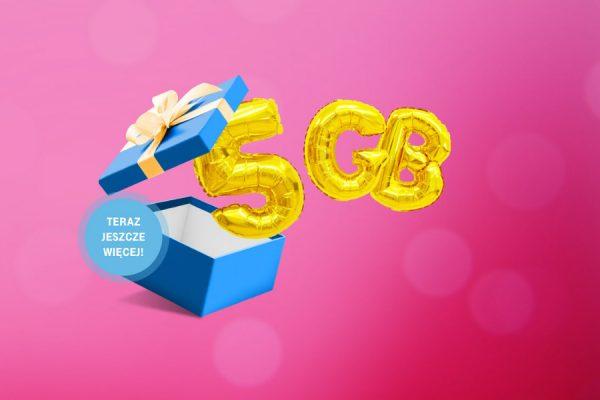 T-Mobile 5 GB za darmo