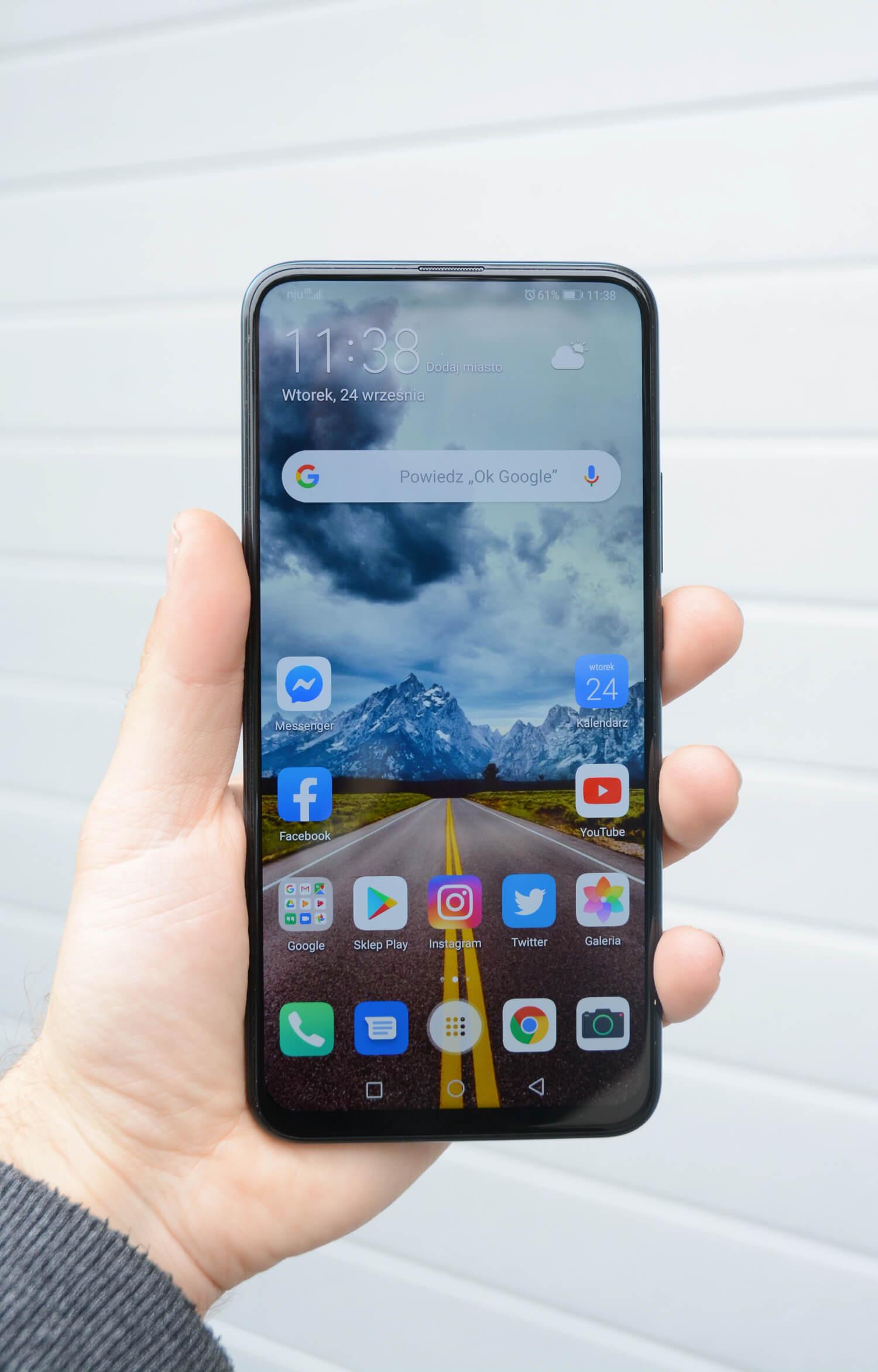 testowanie Huawei P Smart Z