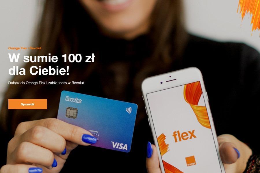 Orange Flex 100 zł gratis
