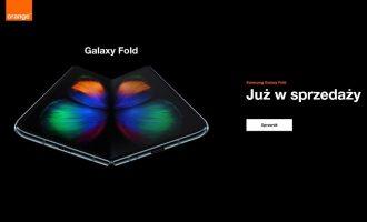 Samsung Galaxy Fold + Galaxy Buds w Orange od 0 zł