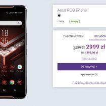 Gigantyczna obniżka w Play – Asus ROG Phone tańszy o 1000 zł!