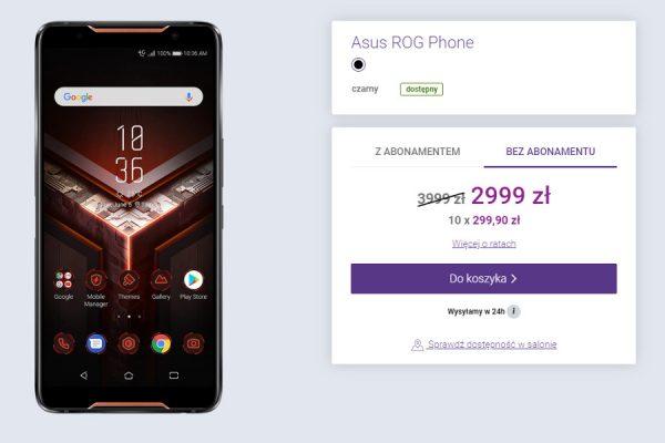 Asus ROG Phone promocja