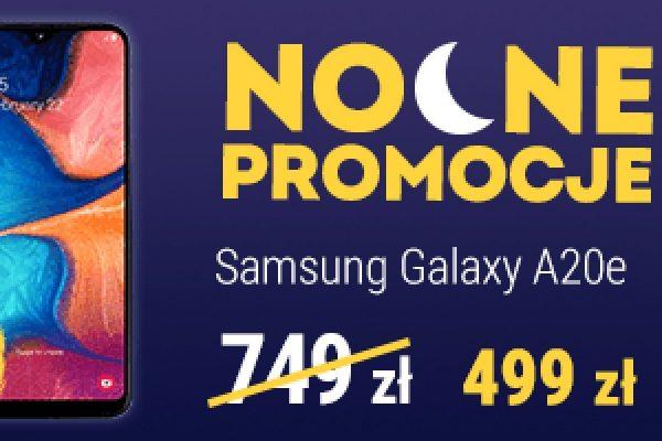 Samsung Galaxy A20e promocja