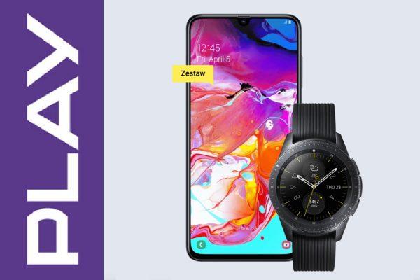 Samsung Galaxy A70 + Galaxy Watch