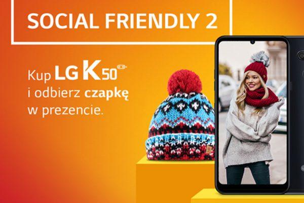 Plus LG K50 prezent