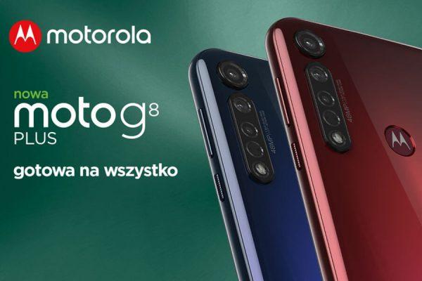 Moto G8 Plus w Plusie