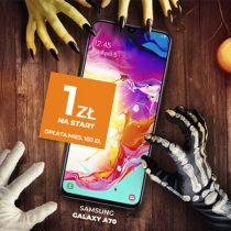 Samsung Galaxy A70 na Halloween za 1 zł w Plusie