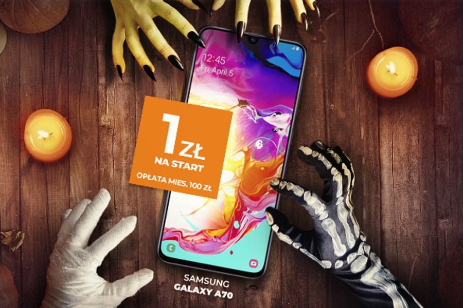 Samsung Galaxy A70 za 1 zł