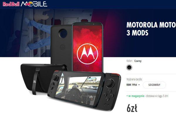 Motorola Moto Z3 Play promocja
