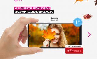 Samsung Galaxy A50 z fotograficznym prezentem w T-Mobile