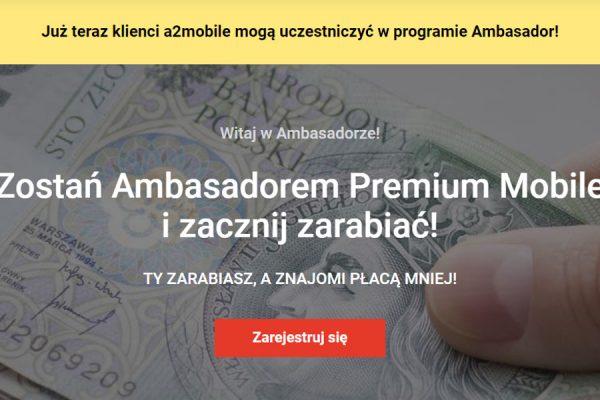 program lojalnościowy a2mobile Premium Mobile