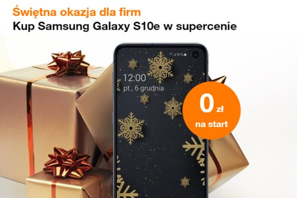 Galaxy S10e dla firm