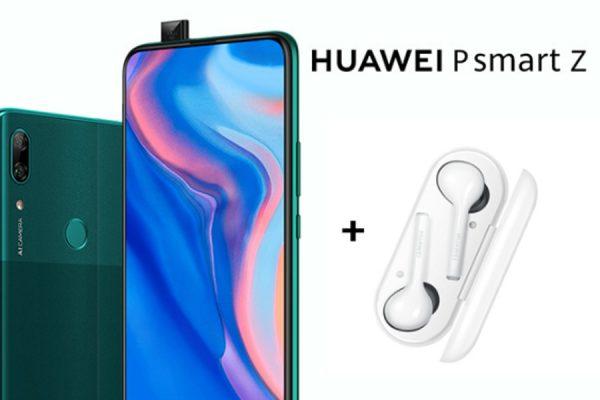 Huawei P Smart Z FreeBuds Lite gratis