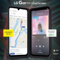 LG G8X ThinQ za 199 zł z bonusami na plus.pl