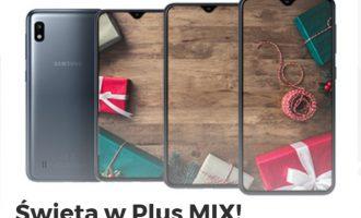 Świąteczny Plus MIX – smartfony od 1 zł