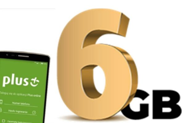 6 GB z aplikacją Plusa