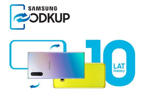 Galaxy Note 10 ODKUP