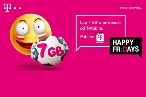 Happy Fridays T-Mobile 7 GB promocja