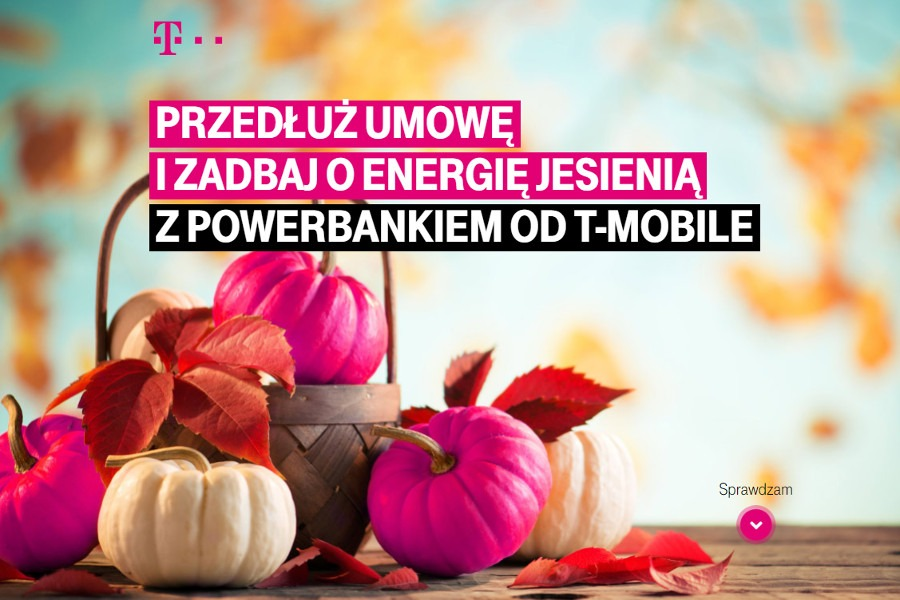 Powerbank w prezencie T-Mobile