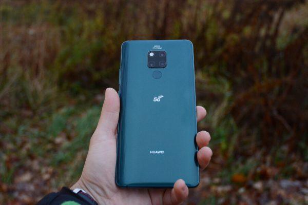 Huawei Mate 20 X 5G test