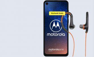 Moto One Vision + słuchawki gratis w Play od 1 zł