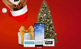 LG K50S z prezentami na Święta w Plushu za 1 zł