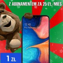 Samsung Galaxy A20e na Święta w Plushu za 1 zł
