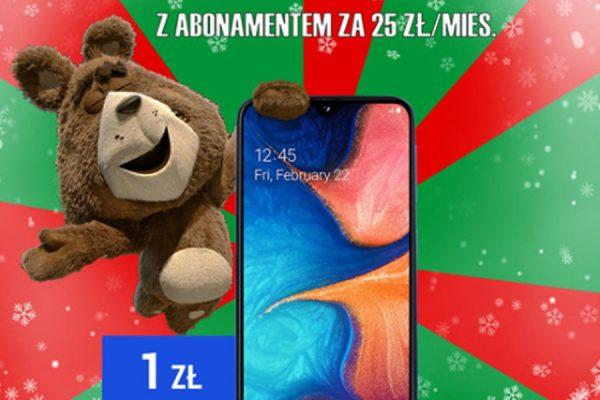 Galaxy A20e promocja