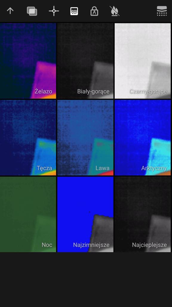 Cat S61 kamera termowizyjna