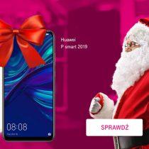 Huawei P Smart z prezentem na Święta w T-Mobile