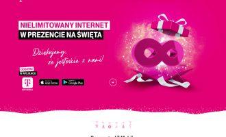 Nielimitowany Internet w prezencie na Święta w T-Mobile!