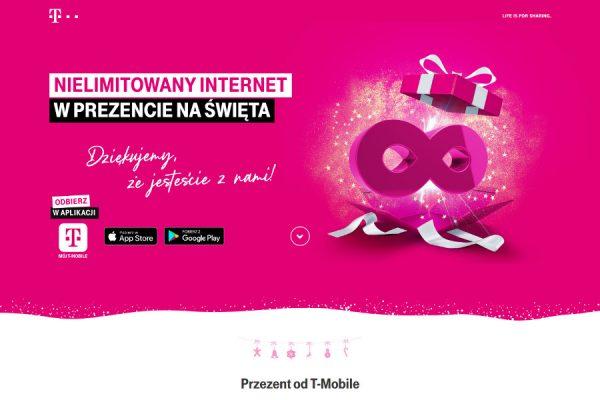 T-Mobile nielimitowany transfer promocja
