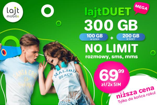 lajt mobile duet promocja
