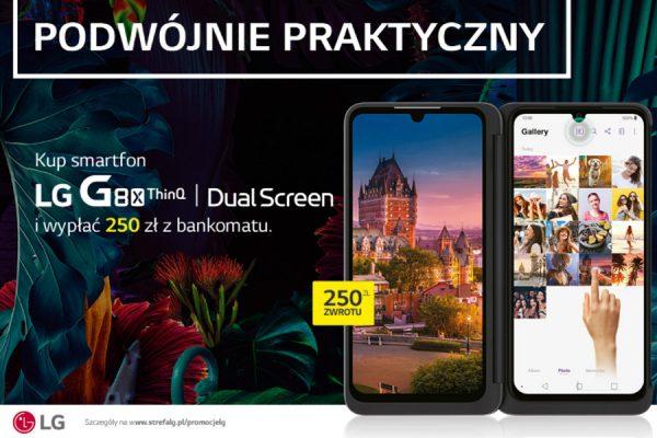 LG G8X ThinQ czek BLIK 250 zł