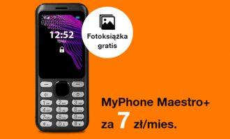 Fotoksiążka gratis z telefonem w Orange