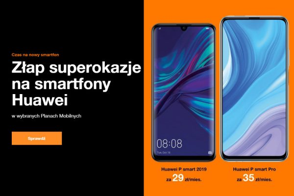 telefony Huawei abonament
