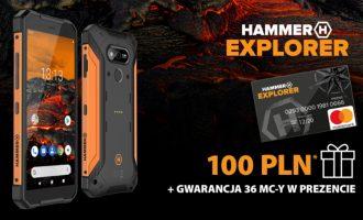 Cashback 100 zł w Play z Hammerem Explorer