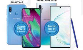 Premia Samsung – zwrot do 500 zł