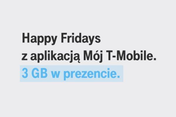 T-Mobile promocja 3 GB