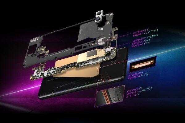 ROG Phone 2 chłodzony cieczą