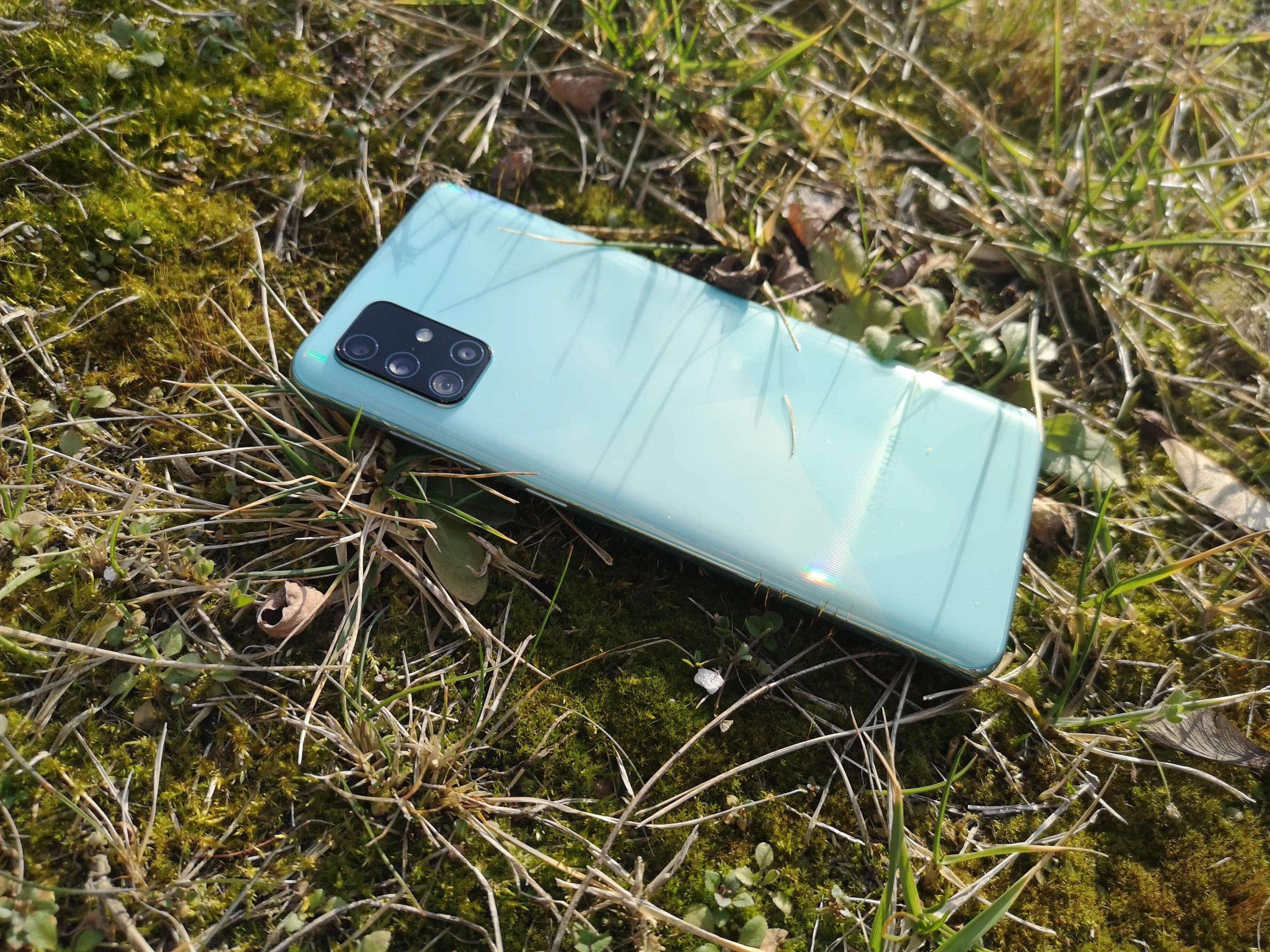 Samsung Galaxy A71 test