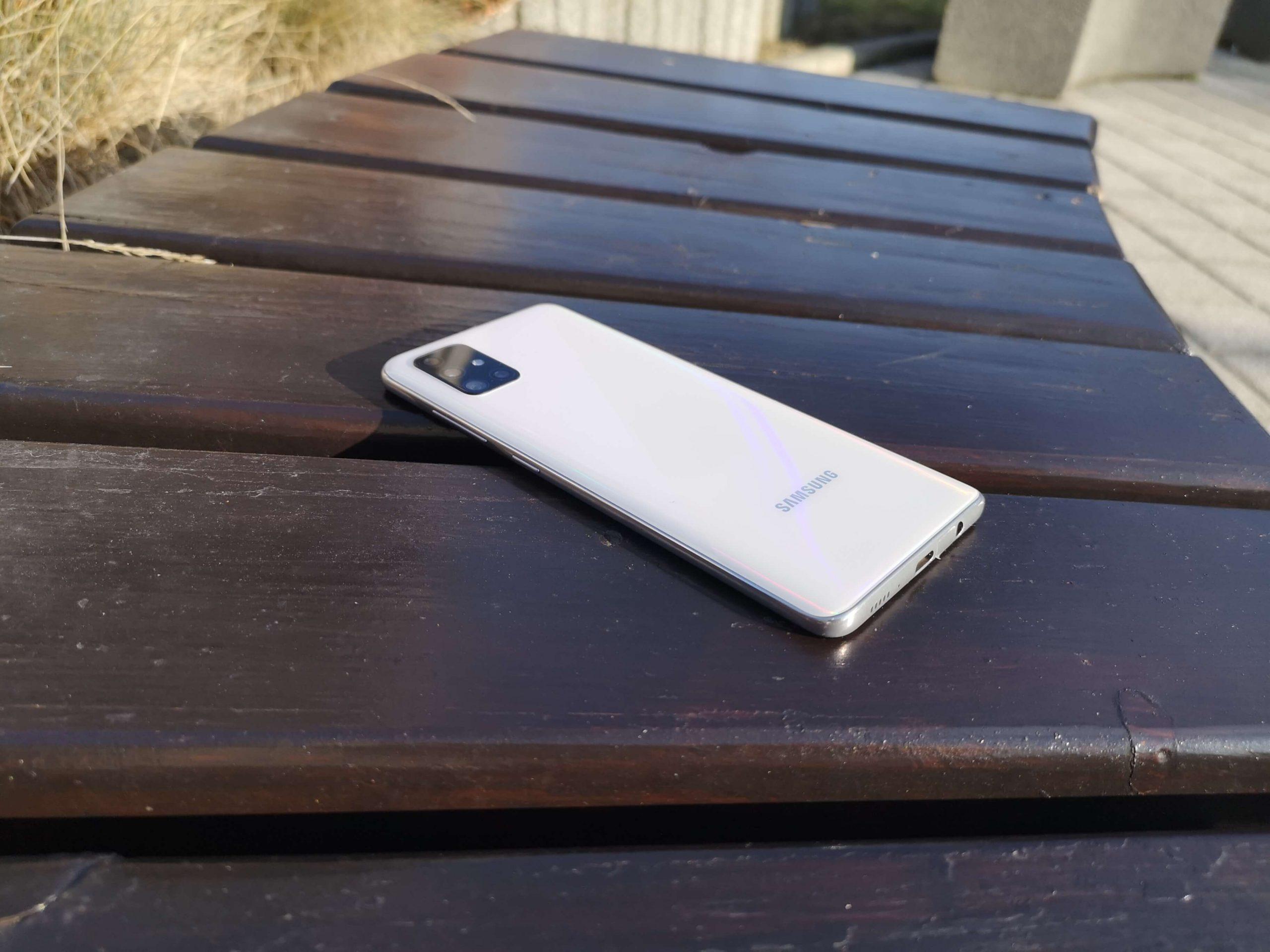 Samsung Galaxy A51 test