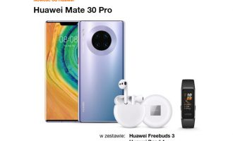 Huawei Mate 30 Pro z bonusami w Orange od 0 zł na start!