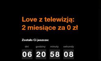 2 miesiące za 0 zł w Orange Love