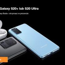 Samsung Galaxy S20+ i Galaxy S20 Ultra w Orange – przedsprzedaż