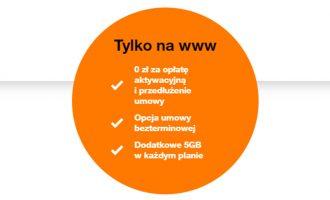Bonusy w Orange dla firm tylko online!