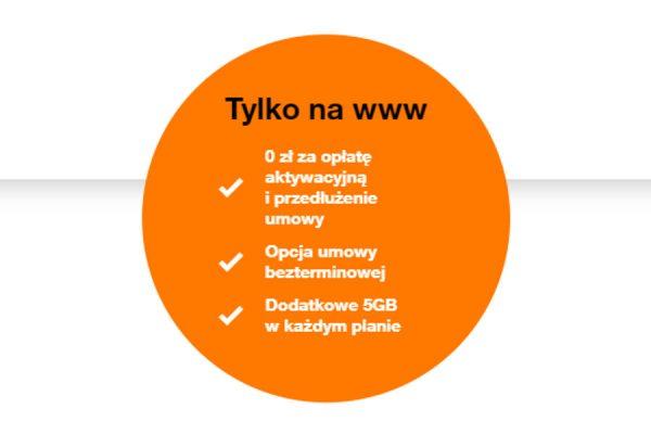 bonusy online Orange firma