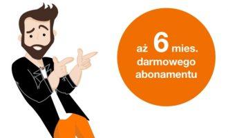 Rozwiąż quiz w Orange i zyskaj 6 miesięcy darmowego abonamentu!