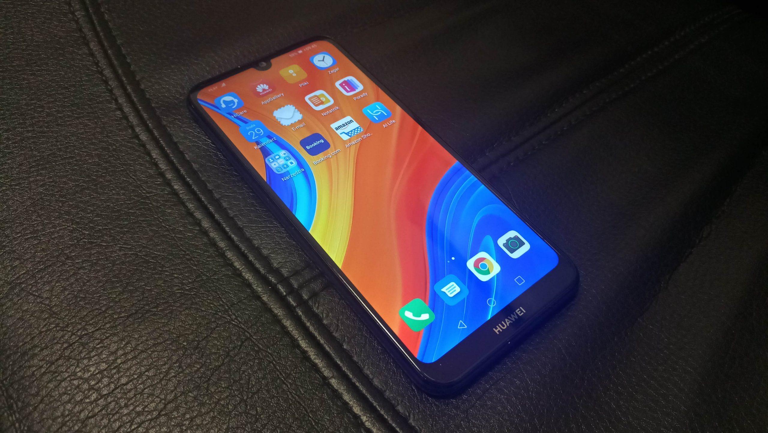 Huawei Y6s test