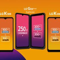 Kobiety na Plus – smartfony LG od 1 zł z bonusami